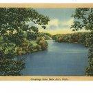 LAKE ANN MICHIGAN GREETINGS FROM VINTAGE POSTCARD