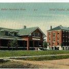 NEWTON KS KANSAS BETHEL HOME & HOSPITAL 1910   POSTCARD