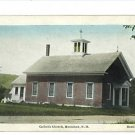 HENNIKER NEW HAMPSHIRE NH CATHOLIC CHURCH HC POSTCARD