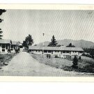 LAKE PLACID NEW YORK GRIFFIN'S MOTEL CABINS POSTCARD