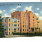 MANCHESTER NEW HAMPSHIRE SACRED HEART HOSPITAL POSTCARD