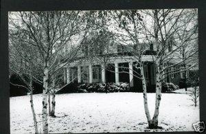 RPPC HOUSE IN SNOW A CUMMINGS PHOTO RP POSTCARD