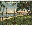 Kennebunkport Maine Me River Beach Postcard