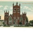 TIPTON IA IOWA M.E. CHURCH VINTAGE POSTCARD