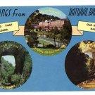 NATURAL BRIDGE VA VIRGINIA GREETINGS FROM POSTCARD