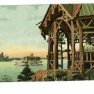 THOUSAND ISLANDS NEW YORK STEAM BOAT 1908 POSTCARD