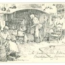 WILLIAMSBURG VA VIRGINIA GOVERNOR'S KITCHEN  POSTCARD