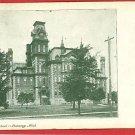 LANSING MICHIGAN HIGH SCHOOL 1909 POSTCARD