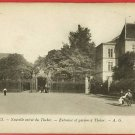 RENNES FRANCE GARDEN OF THABOR BABY BUGGY  POSTCARD