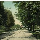 BOWLING GREEN OHIO WEST WOOSTER STREET 1910  POSTCARD