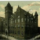 HARRISBURG PENNSYLVANIA PA HIGH SCHOOL POSTCARD HOFFMAN