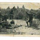 ON THE FIRING LINE KAVANAUGH'S  WAR POSTAL POSTCARD