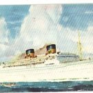 MATSON LINES LINER LURLINE STEAMSHIP SHIP  POSTCARD