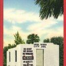 ANNA MARIA ISLAND FL FLORIDA CITY JAIL PRISON  POSTCARD