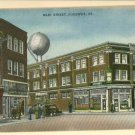 ALIQUIPPA PA MAIN ST LAUNDRY PAHL'S GRILL CARS POSTCARD