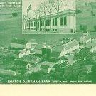 FORT ATKINSON WISCONSIN HOARD'S DAIRYMAN FARM POSTCARD