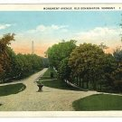 OLD BENNINGTON VERMONT VT MONUMENT AVENUE 1927 POSTCARD