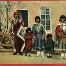 INDIAN PUEBLO FAMILY NEW MEXICO NM  POSTCARD WILLIS