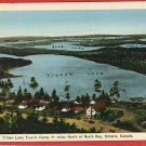 TILDEN LAKE TOURIST CAMP N BAY ONTARIO CANADA  POSTCARD
