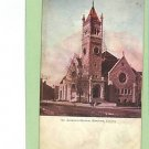 KINGSTON CANADA ST ANDREW'S CHURCH 1906 POSTCARD