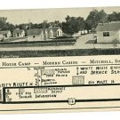 White House Camp Mitchell SC  Cabins Postcard