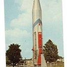 CONVAIR SM-65 ATLAS BALLISTIC MISSILE WPAFB POSTCARD