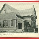 GENEVA OHIO CHRISTIAN CHURCH PARK STREET  POSTCARD