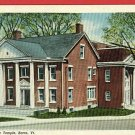 BARRE VERMONT VT MASONIC TEMPLE POSTCARD LINCOLN-LILLIE