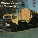 PACIFIC NORTHWEST LOGGING TACOMA WA HENDRICKS TRUCK '58