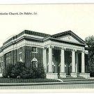 DE RIDDER LA LOUISIANA FIRST METHODIST CHURCH POSTCARD