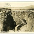RPPC CROOKED RIVER BRIDGE DALLES CALIFORNIA HWY OREGON