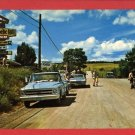 MAGNETIC HILL INN N.B. CANADA OLD CARS TRUCK  POSTCARD