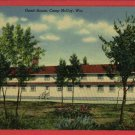 CAMP MCCOY WI WISCONSIN  GUEST HOUSE  POSTCARD