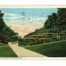 MACATAWA MICHIGAN MI VALLEY AVE 1930 BRINK POSTCARD