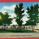 COLBY KANSAS KS HI PLAINS MOTEL  POSTCARD