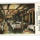 Newton NJ Log Cabin Cochran House 1931 Postcard