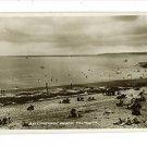RPPC FALMOUTH SCOTLAND GYLLNGVASE BEACH BATHERS