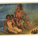 THE NIGHTWATCH NAHL NATIVE AMERICAN INDIANS POSTCARD