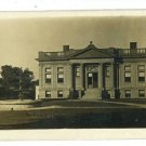 RPPC UNION CITY IN INDIANA CARNEGIE LIBRARY RP POSTCARD