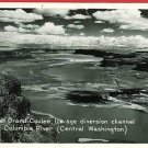 RPPC UPPER GRAND COULEE WASHINGTON  RIVER 1947 POSTCARD
