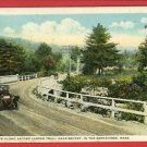 BECKET BERKSHIRES MA MASS JACOBS LADDER TRAIL  POSTCARD