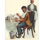R HILL LUCKY DOG SERIES NO 4  BUM EATING W SERVANT 1906