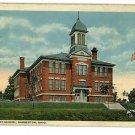 BARBERTON OHIO OH HIGH STREET SCHOOL  POSTCARD