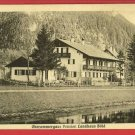 OBERAMMERGAU PENSION LANDHAUS BOLD GERMANY POSTCARD