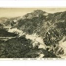 RPPC ANGELES CREST HIGHWAY MT. WILSON CALIFORNIA 1938