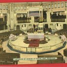 ROYAL OAK  MICHIGAN MI  INTERIOR OF SHRINE POSTCARD