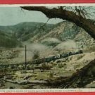 CAJON PASS CA SANTE FE LIMITED TRAIN HARVEY  POSTCARD