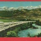 CALIFORNIA ZEPHYR TRAIN RAILROAD VISTA DOME POSTCARD