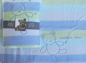 NEW CARTERs Classics ALL ABOUT A BEAR FLEECE BLANKET