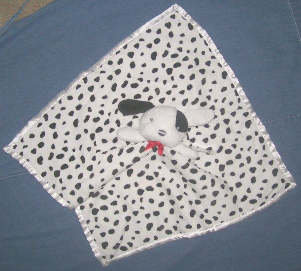 NWT CARTERs DALMATION PUPPY DOG SECURITY BLANKET NEW